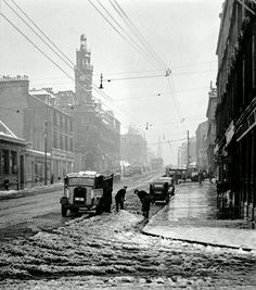 Winter scene at Great Western Road, Glasgow in Glasgow Scotland, Edinburgh, Castle Scotland, Scotland Travel, Hobbs New Mexico, Scottish People, Take The High Road, Glasgow City, Great Western