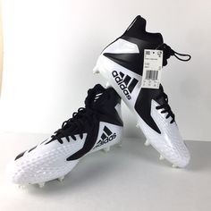 Adidas Football Cleats Size 14 on Mercari Adidas Football Cleats, White Football Cleats, Adidas Cleats, Football Boots, Size 14, Box, Shoes, Awesome Shoes, Soccer Shoes