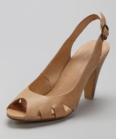 Take a look at this Nude Maya Slingback on zulily today!