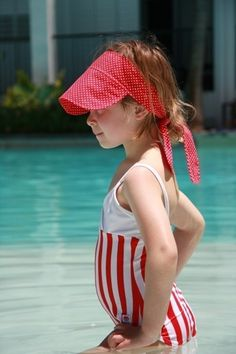 kids sun hat, tie-on visor, Twirling Betty