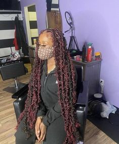 Big Box Braids Hairstyles, Braids Hairstyles Pictures, Faux Locs Hairstyles, Black Girl Braided Hairstyles, African Braids Hairstyles, Baddie Hairstyles, Pretty Hairstyles, Natural Hair Braids, Braids For Black Hair