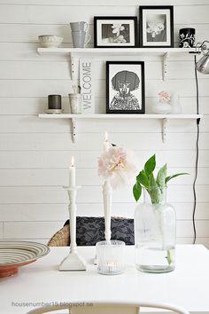 Bright and white. #interior #design