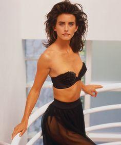 Self US, February 1988 Model : Courteney Cox