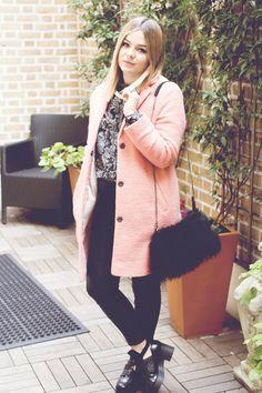 LLYMLRS // UK Style and Fashion Blog: LFW A/W14 : day four