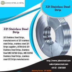 Leading manufacturers & exporters of 321 Stainless Steel Strips, ASTM Stainless Steel 321 Strips, UNS SS Strips at affordable prices from mumbai,india. Stainless Steel Strip, Flexible Pipe, Oil Refinery, Chemical Industry, Cold Rolled, Food Industry, Mumbai, India, Bombay Cat