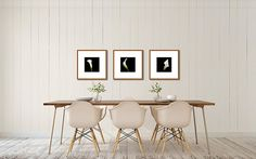 Fine Artist Tracey Capone uses our room scenes to show her art in her Etsy shop.  This dining room is from the Modern Romance Collection of rooms that can be found here: http://www.arianafalerni.com/design/products/modern-romance-collection/