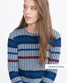 #zaradaily #wednesday #trf #knitwear #aw15