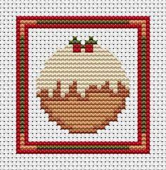 Sew Simple Pudding cross stitch kit