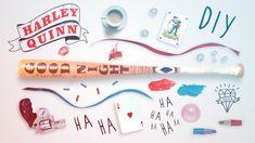 HARLEY QUINN - DIY BASEBALL BAT - SUICIDE SQUAD