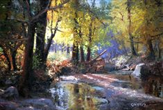 Michael Godfrey Biography and Paintings- page 2