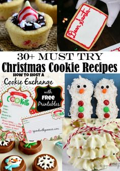 have found 30 MUST TRY Christmas Cookie recipes to share with you!  These tasty treats will bring a smile to any face and make your cookie exchanges extra special.