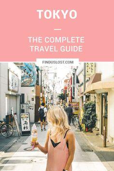 The Complete Tokyo Travel Guide | City Guides | Japan Travel Itinerary | Crepes Shop Harujuku Takeshita Street | Neighborhood Travel Tips