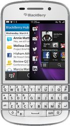 Blackberry White Phone designed with a user-friendly interface, the BlackBerry (Unlocked) is lightweight and slender, offering you a convenient performance. Sporting a QWERTY keyboard with backlight this BlackBerry mobile phone facilitates Blackberry Mobile Phones, Blackberry Smartphone, Blackberry Q10, Bluetooth, Smartphone Features, Phones For Sale, Unlocked Phones, Iphone, Shopping