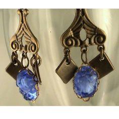 Rhapsody in blue earrings