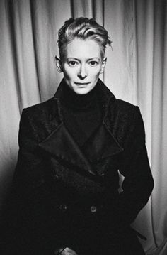 """Tilda Swinton """"I don't know if I could ever really say that I was a girl – I was kind of a boy for a long time. I don't know, who knows? It changes."""" http://thewip.net/2009/03/20/interview-with-actress-tilda-swinton-i-am-probably-a-woman/"""