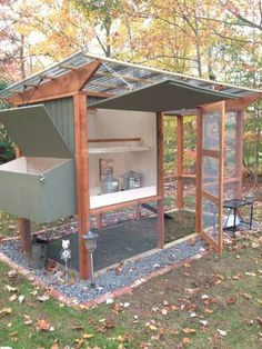 Chicken Coop - More ideas below: Easy Moveable Small Cheap Pallet chicken coop ideas Simple Large Recycled chicken coop diy Winter chicken coop Backyard designs Mobile chicken coop On Wheels plans Projects How To Build A chicken coop vegetable garden Step Chicken Coop On Wheels, Walk In Chicken Coop, Chicken Coop Pallets, Mobile Chicken Coop, Chicken Barn, Easy Chicken Coop, Portable Chicken Coop, Backyard Chicken Coops, Building A Chicken Coop