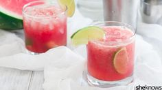 TGIF: If you've never sipped a caipirinha, this watermelon version is an excellent introduction