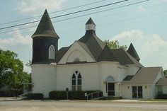 Alexander Chapel Built In 1884 Located In Baytown Tx At