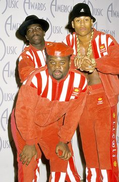 LL Cool J and his posse on the AMAs red carpet in 1988. | Billboard