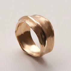 Wrap No.1 - 14k Gold Ring , Unisex Ring , Wedding Ring , Wedding Band , Mens Ring on Etsy, $679.01 AUD