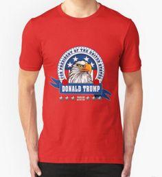 Donald Trump For President Eagle Head T shirt
