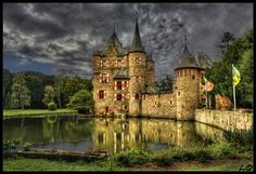 Satzvey Castle, North Rhine-Westphalia, Germany