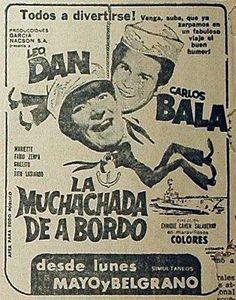 1967 - LA MUCHACHADA DE A BORDO - Enrique Cahen Salaberry - (EL LITORAL, Sábado 1 de Julio de 1967, Santa Fe, Argentina)