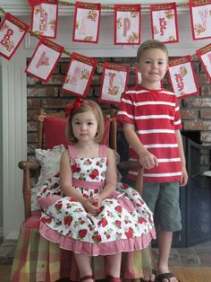 "Photo 1 of 28: Red, Green and Pink / Birthday ""Vintage Strawberry Shortcake"" 