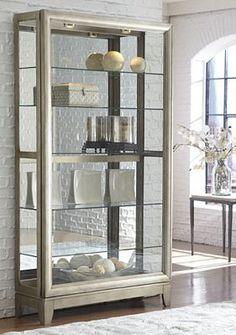 Havertys Prescott Display Cabinet