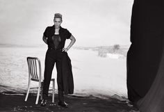Actress Kate Winslet trades in red carpet glamour for more down to earth style in the November 2015 cover story from L'Uomo Vogue. The British star of 'Steve Jobs' poses in menswear inspired pant suits and separates for the photo shoot captured by Peter Lindbergh of 2b Management. Clare Richardson styled Kate in oversized coats, …