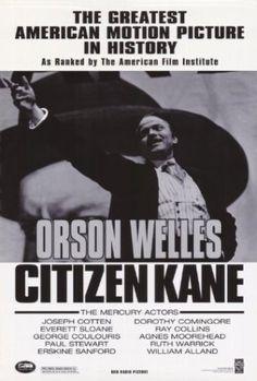 150 películas que recomienda Quentin Tarantino.  (Citizen Kane)