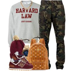College Day, created by oh-aurora on Polyvore