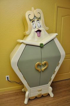 Beauty and the Beast Armoire