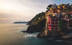 """""""Riomaggiore+at+Sunset""""+--+#wallpaper+by+""""MatteoRipamonti""""+from+http://interfacelift.com+--+Riomaggiore+(Rimazùu+in+the+local+Ligurian+language)+is+a+village+situated+in+a+small+valley+in+the+Liguria+region+of+Italy.    Adobe+Photoshop.+--+Available+as+#wallpapers+in+any+resolution+at:+http://interfacelift.com/wallpaper/details/4087/riomaggiore_at_sunset.html"""