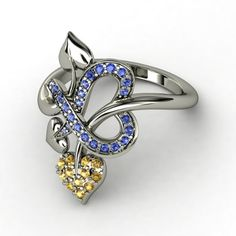 Tattooed with Love Ring