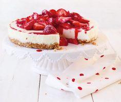 Erdbeer-Frischkäse-Torte Rezept - [ESSEN UND TRINKEN]
