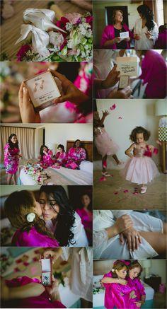 bride getting ready cap cana wedding photographer