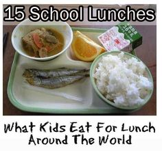 Have you ever wondered what your kids eat at school? What about kids in other countries around the world? Especially after living in France with my 3 children and seeing what they eat in their school cantine … Nutrition Education, Kids Nutrition, Kids Around The World, Around The Worlds, Healthy Kids, Healthy Living, Healthy Weight, National Nutrition Month, Artificial Food Coloring