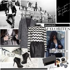 """Chevron sweaters for fall!!"" by electric-bird on Polyvore"