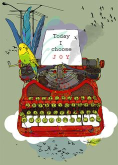 vintage typewriter @ Elisandra
