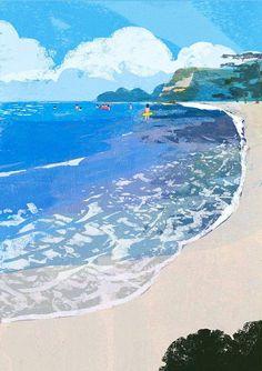Illustrations by Tatsuro Kiuchi Art And Illustration, Illustrations And Posters, Pretty Art, Cute Art, Art Design, Art Inspo, Illustrators, Concept Art, Art Drawings