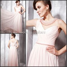 Wholesale Wonderful Elegant Beaded Ruffle High collar Sheath pageant dresses evening party gown prom dress, Free shipping, $82.88-116.48/Piece | DHgate