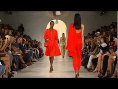 EVERYTHING Outfit and look is gorgeous! Ralph Lauren | Spring Summer 2015 Full Fashion Show | Exclusive - YouTube