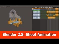 And here is the last animation for the low poly cannon that we created with Blender The shoot animation. Create Animation, Animation Film, Principles Of Animation, 3d Computer Graphics, Blender Tutorial, Video Game Development, 3d Tutorial, Game Engine, Blender 3d