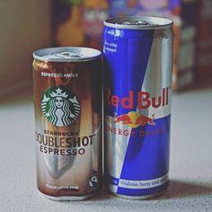 Breakfast! #Starbucks #RedBull