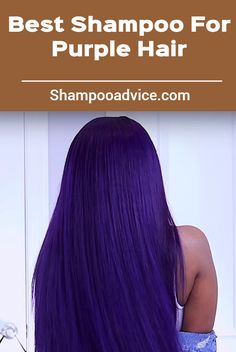 If you go for a pastel purple dye job, a purple shampoo like Toning Shampoo can cut out the brassiness that may begin as your color fades. Purple Dye, Pastel Purple, Shampoo For Purple Hair, Toning Shampoo, Best Shampoos, Long Hair Styles, Beauty, Color, Long Hairstyle