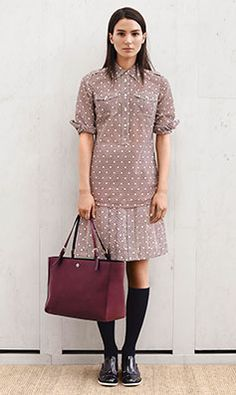 Tory Burch PREFALL 2014 — Look 8: undefined