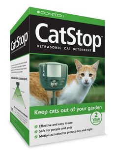 how to keep cats out of the garden. ScareCrow Motion-Activated Animal Deterrent - If Outdoor Cats Are Taunting Your Indoor Kitties, This Motion-activated Water Sprayer Can Help Deter \u2026 How To Keep Out Of The Garden