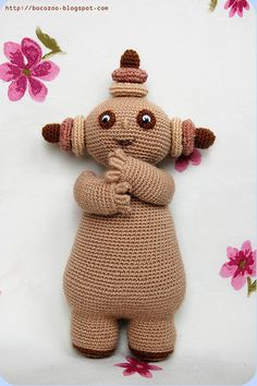 Biki would love this...if only I could crochet