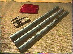 Como realizar un nudo / amarre en varas de Bambú / Guadua. - YouTube